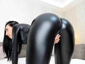 Melissa Sweet Shiny Leggings Camgirl
