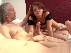 Seducing Young Harlot In A Wild And Wet Group Sex