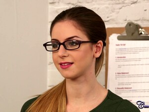 CumPerfection - Stella Cox Office Duties