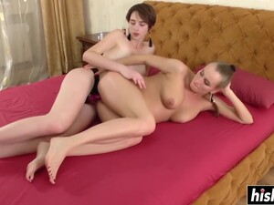 Long Toy Makes A Horny Girl Moan