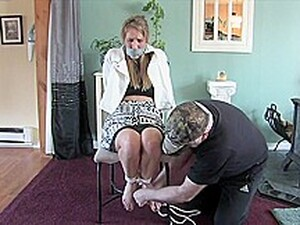 Kinky Housewife Gets Tied Up By A Plumber, Because It Excites Her More Than Anything Else