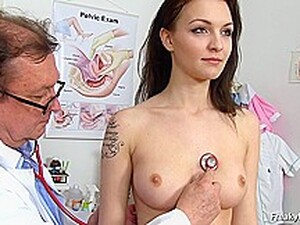 Czech Slender Bombshell Enjoying The Doctors