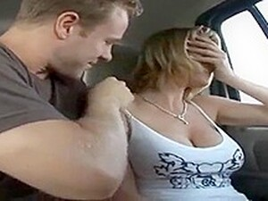 Hardcore Blonde Wife In Van