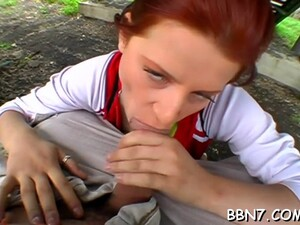 Filthy Maid Rosses Craves For Oral Pleasure