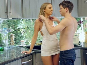 Bosomy Blonde Alexis Adams Is Cheating On Her Boyfriend With His Best Friend
