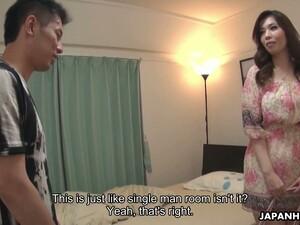 Attractive Asian Milf Yuko Iijima Enjoys Blowing A Big Juicy Pole
