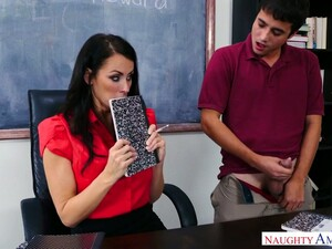 Strict Teacher Reagan Foxx Fucks One Bad And Spoiled Student