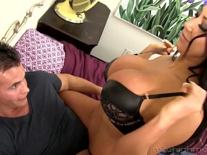 Legendary Sex With Jaw Dropping Tanned Brunette With Fake Boobs August Taylor