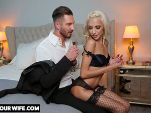 Glamorous Blonde Hime Marie Is Cheating On Her Husband With Handsome Lover