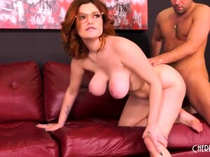 Voluptuous Redhead Teen With Big Tits Gets Pounded Hard In