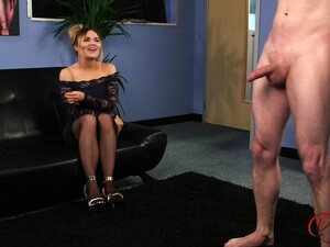 Amateur Video Of A Guy Stroking His Penis While Tina Whiteman Watches