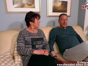 German Amateur Mature Couple Fuck In Porn