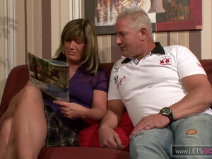 German Mature Couple Fuck So Hot
