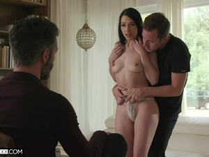 Sweet Wife Alex Coal Spreads Her Legs To Ride Another Stud