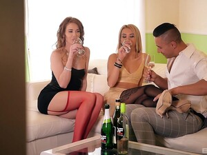 Balls Deep Anal Sex Threesome With Tequila Girl And Melissa Benz