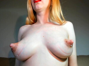 Milking Big Nipples On Camera
