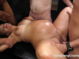 Gangbang After Casting For A Pregnant Girl