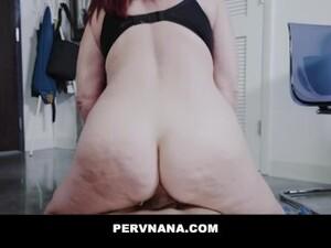 PERVNANA - Birthday Sex Surprise From My GILF Mature Stepgrandma