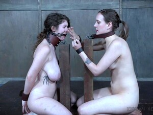 Nerdy Slave Girl Sierra Cirque Forced To Abuse Her Tied Up Girlfriend