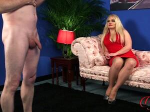 Blonde Slut Steph Lockhart Watches An Amateur Guy Jerk Off