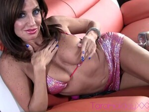 Tara Holiday Always Sticking New Toys In Her Gaping Clit