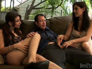 Two Sex Dolls Are Making This Dude Relax And Enjoy