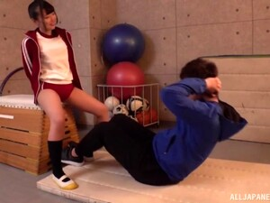 Amateur Fucking In The Gym With Cock Hungry Japanese Yumeni Shouuta