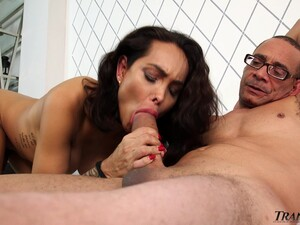 Quite Housewifely Shemale Asul Santini Just Loves When Her Anus Is Polished