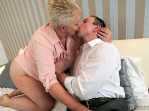 Horny Plumper Astrid Is Fired Up For Some Stiff Cock