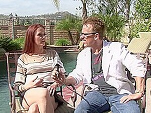 Red Haired Woman, Chloe Is Cheating On Her Husband Quite Often, Because It Feels So Fucking Good