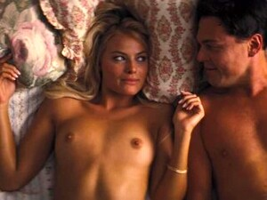 Margot Robbie Nude - 'The Wolf Of Wall Street' - Tits, Pussy, Ass, Sex, Upskirt, Full Frontal