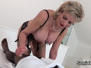 Cheating English Milf Lady Sonia Shows Her Big Titties