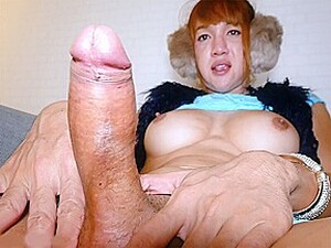 Huge Cock Mature Ladyboy Nanny Anal Doggystyle Fucked After Sucking Dick