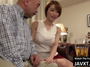 Hot Japanese Milf Fucked By Old Men Movie