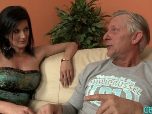 Delicious Brunette Olivia With Firm Natural Tits Gets Rammed