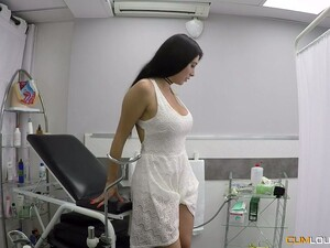 Delicious Pussy Of Young Patient Estrellita Makes Gynecologist Horny