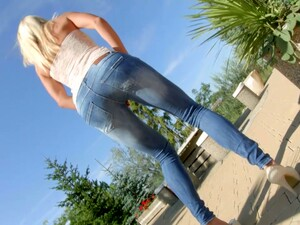 Delicious Blonde Christen Is Fucking Herself With Different Sex Toys