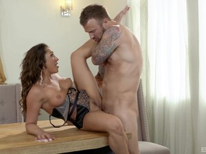 Horny Dude Roughly Fucked Gorgeous MILF And Covers Her Boobs In Sperm