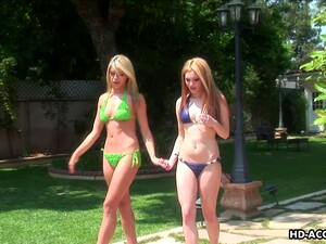 Jayme Langford And Marlie Moore Seduce Each Other For A Great Fuck