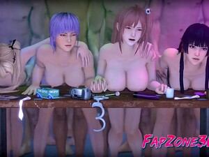 Video Games Sexy Girls Fuck In Every Hole