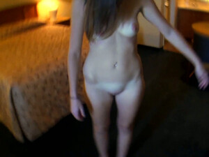 Sweet Brunette Chick With Pretty Smile Summer Rae Sucks Dick On POV Cam