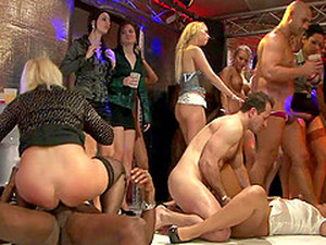 Tight Ass Babes Go On Their Knees For A Thorough Doggystyle Fucking In A Reality Shoot