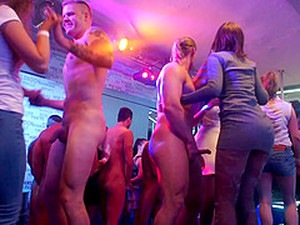 Group Banging In The Secret Nightclub Is Exactly What The Gals Needed!