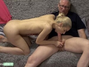 Niemand Lutscht Besser Als Nesty! Sweet Lips On Old Dicks Ep.04 - Opa Hans Spritzt Alles In Den Mund