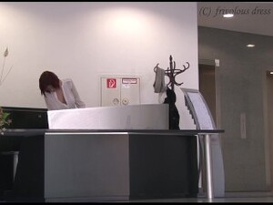 Erotic Exhibitionism F18 - Beautiful Redhead Commutes For Work