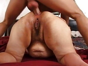 Anal For This Big Fat Granny