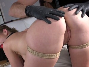 Generous Dominant Buddy Takes Gag Out Of Daisy Stone's Mouth To Mouthfuck Her