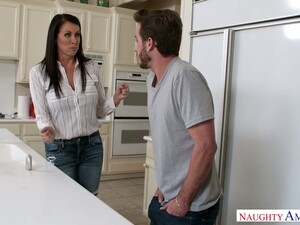 Wondrous 42 Yo Housewife Wakes Up Buddy By Giving Him A Good Footjob