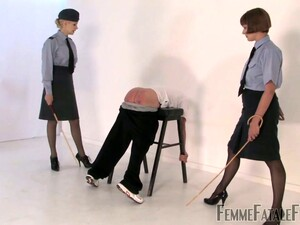 Poor Old Buddy Gets Bent Over And Smacked Hard By Dominant Miss Zoe