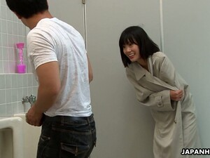 Slutty Mouth Of Kinky Flat Chested Japanese Chick Uta Kohaku Gets Filled With Cum